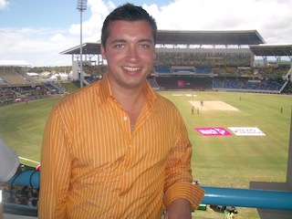 Senior Correspondent for Cricket World Cup in the Caribbean 2007. They live and breathe the game of cricket. Australia won the final in Barbados in the dark!